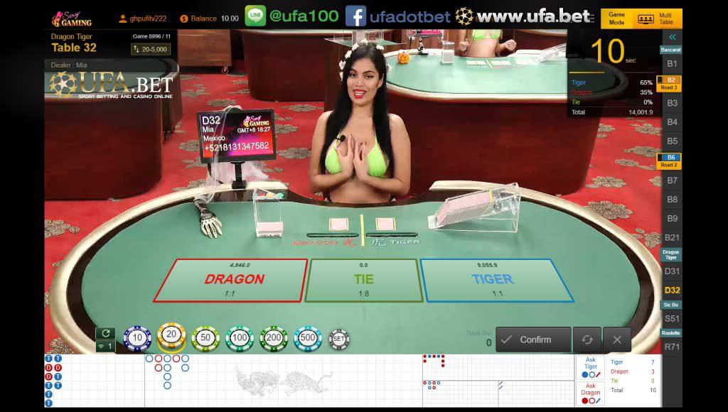 เสือมังกรออนไลน์ Sexy Gaming